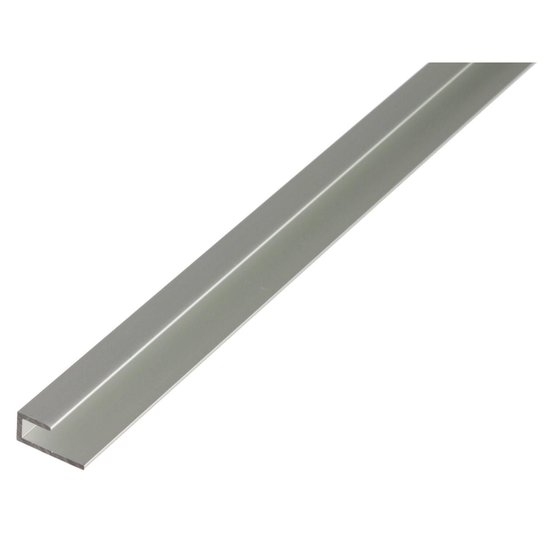 Sonstige Abschlussprofil Silber eloxiert selbstklemmend 9 mm x 20 mm x 2000 mm