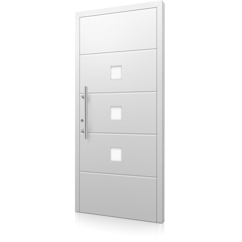 aluminium haust r moderno m380 b 110 x 210 cm wei. Black Bedroom Furniture Sets. Home Design Ideas