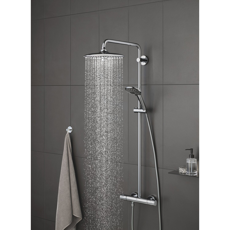 grohe duschsystem vitalio joy 260 kaufen bei obi. Black Bedroom Furniture Sets. Home Design Ideas