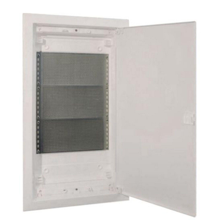 e2 elektro unterputz pvc mediaverteiler mit t r 3 reihig wei kaufen bei obi. Black Bedroom Furniture Sets. Home Design Ideas