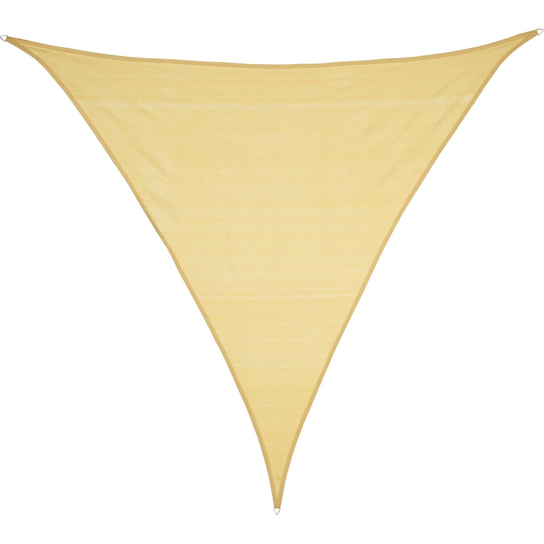 Obi Sonnensegel Sun City Dreieck Hdpe 500 Cm X 500 Cm X