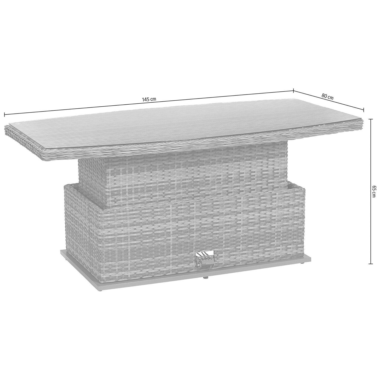 obi aluminium tisch yorktown kaufen bei obi. Black Bedroom Furniture Sets. Home Design Ideas