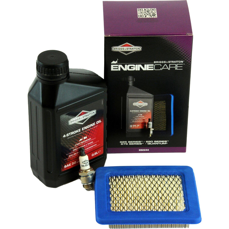 Service-Kit f/ür Benzin-Rasenm/äher mit Motor von Briggs /& Stratton Quantum