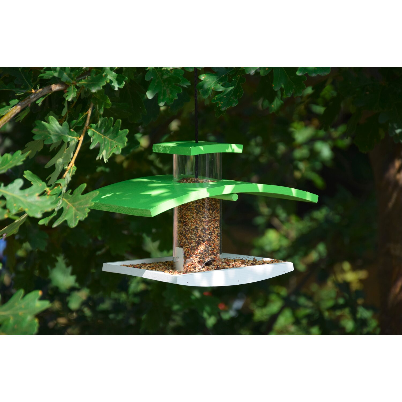 dobar vogelfutterspender mit acrylgassilo kaufen bei obi