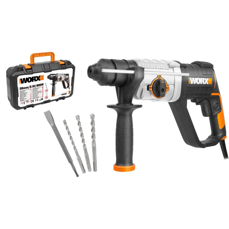 worx bohrhammer 800 w wx339 kaufen bei obi