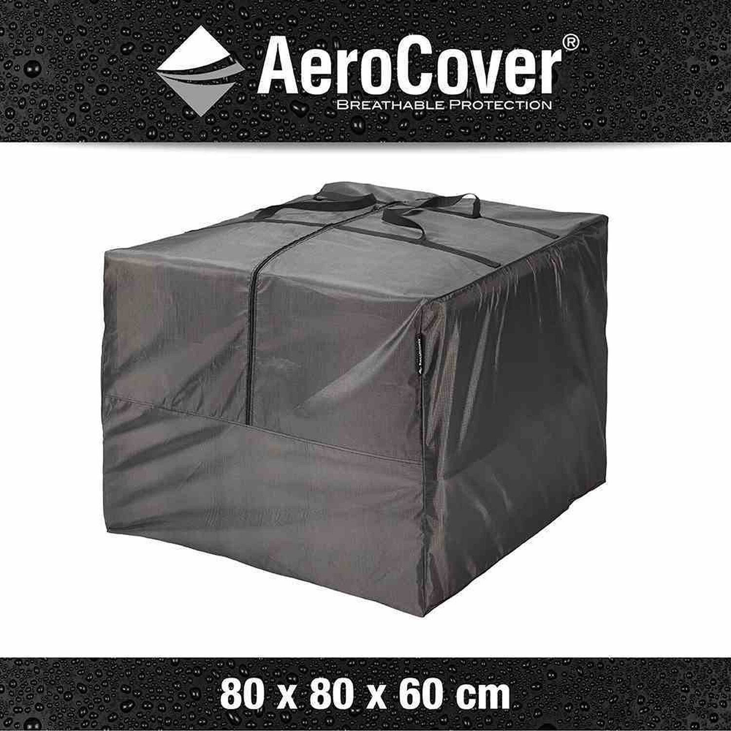 aerocover schutzh lle f r lounge kissen 60 cm x 80 cm x 80 cm anthrazit kaufen bei obi. Black Bedroom Furniture Sets. Home Design Ideas