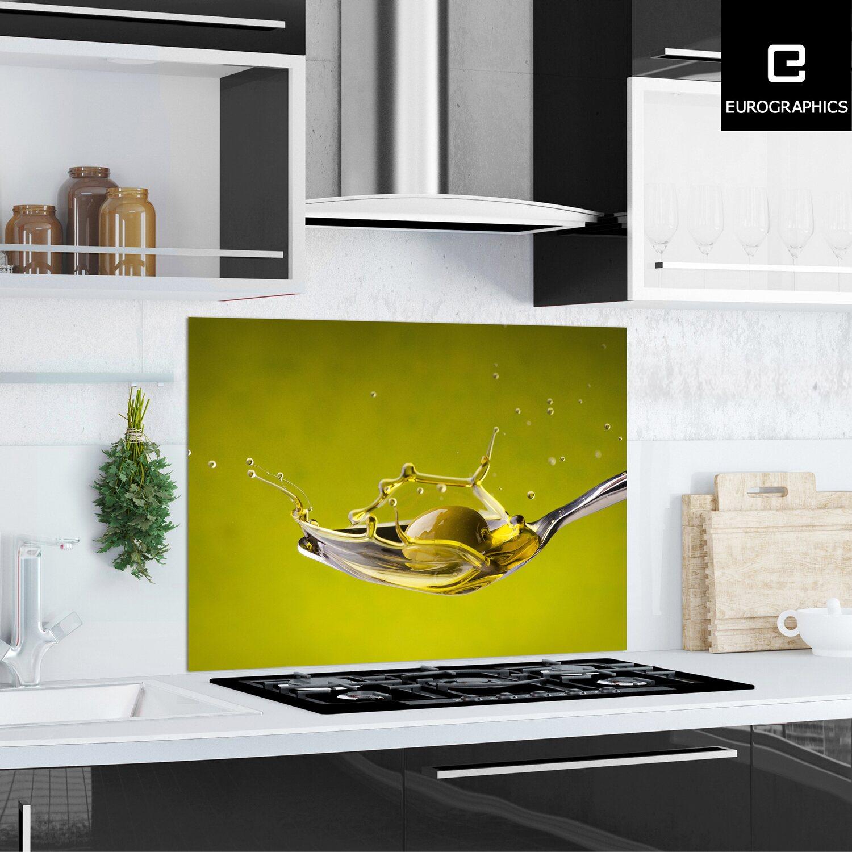 kitchen glas spritzschutz olive splash 65 cm x 90 cm kaufen bei obi. Black Bedroom Furniture Sets. Home Design Ideas