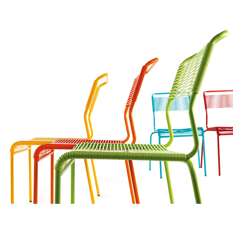 Schaffner Gartenstuhl Säntis Spaghetti stapelbar Türkis kaufen bei OBI