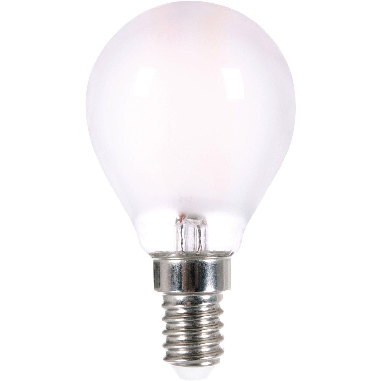 Lightme LED-Filament-Leuchtmittel Tropfenform E14/ 4 W (400 lm) Warmwei EEK: A++