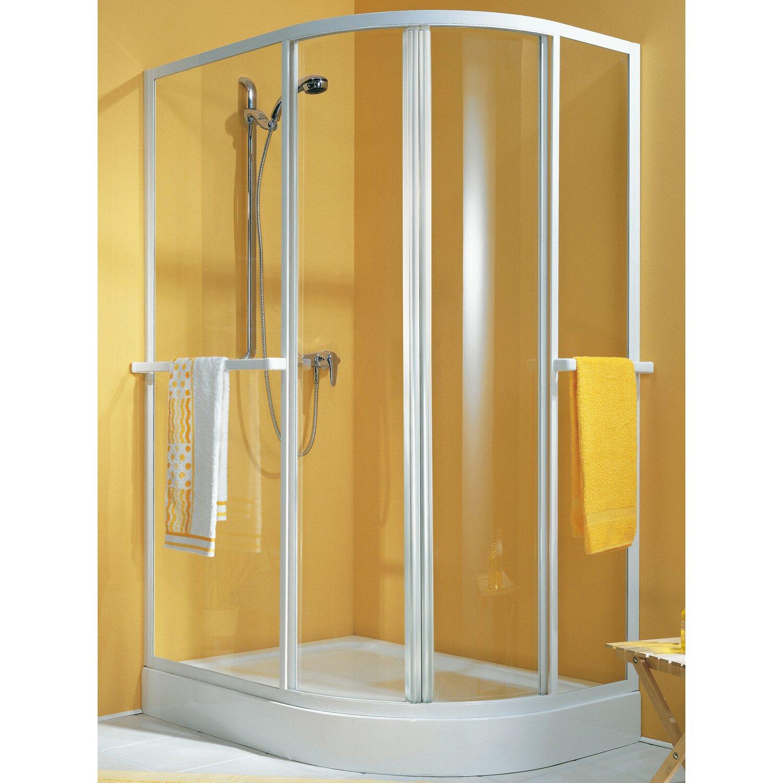 schulte alexa ii runddusche 90 cm x 100 cm echtglas wei kaufen bei obi. Black Bedroom Furniture Sets. Home Design Ideas