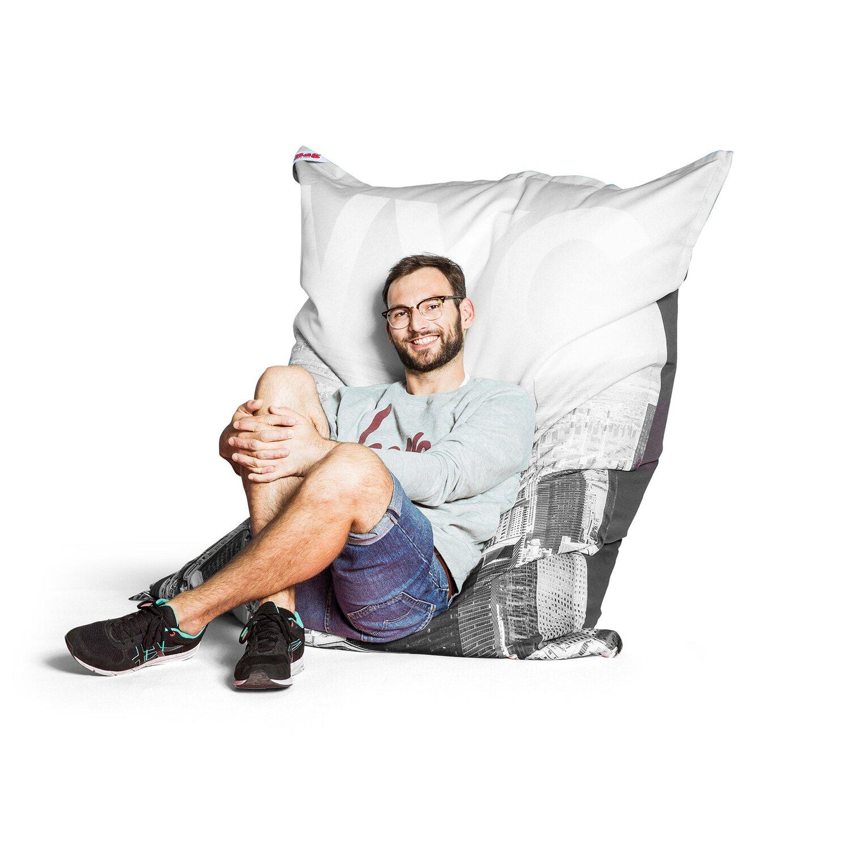 Sitting Point Sitzsack Bigbag Nyc 380 L Schwarz