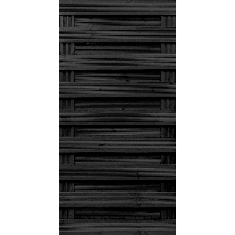 andrewex sichtschutzzaun element goch anthrazit lasiert 180 cm x 90 cm kaufen bei obi. Black Bedroom Furniture Sets. Home Design Ideas