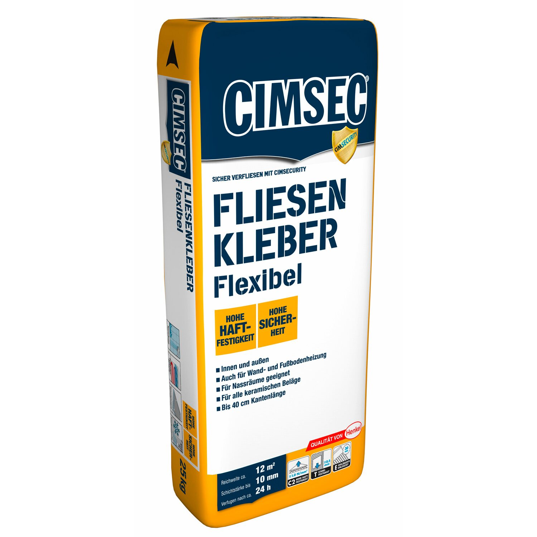 Super Cimsec Fliesenkleber Flexibel 25 kg kaufen bei OBI MB81