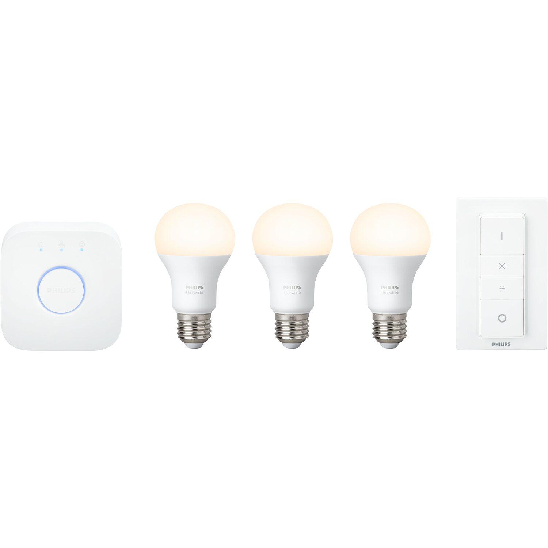 Philips hue led lampe white starter kit e2795 w eek a kaufen philips hue led lampe white starter kit e2795 w eek parisarafo Choice Image