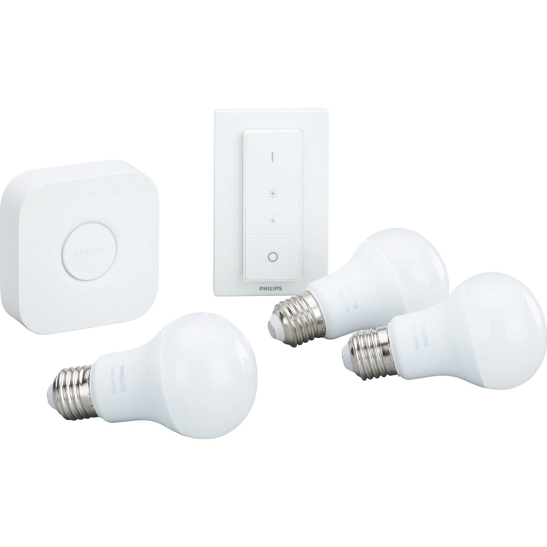 Philips hue led lampe white starter kit e2795 w eek a kaufen vollbild parisarafo Choice Image