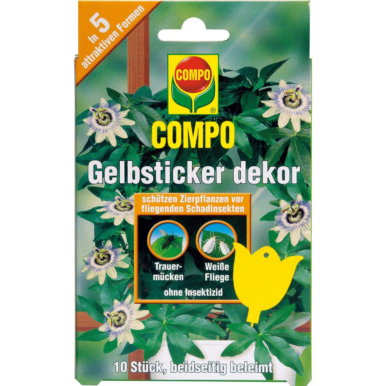 Compo bio gelbsticker dekor 10 stk kaufen bei obi for Dekor von zierpflanzen