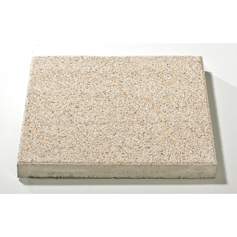 Sonstige Country Platte Hellgelb gewaschen 3,8 cm x 40 cm x 40 cm