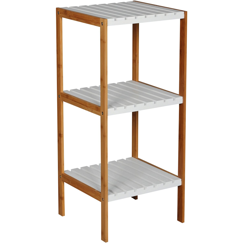 bambus badregal 3 b den kaufen bei obi. Black Bedroom Furniture Sets. Home Design Ideas