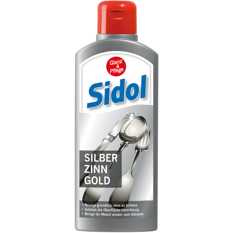 Sidol Silber-, Zinn-, Gold-Reiniger 250 ml