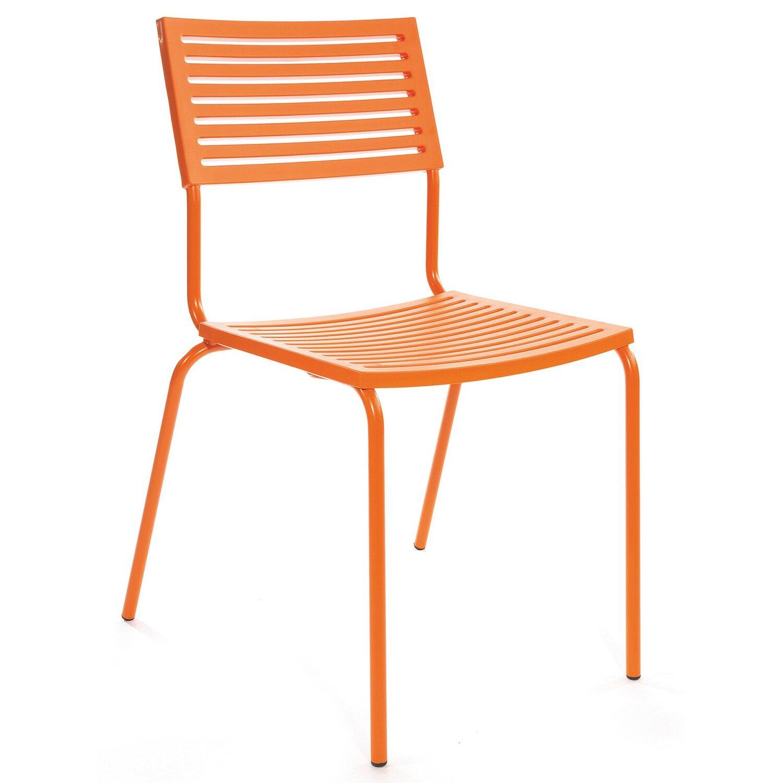Schaffner Stapelstuhl Lamello Orange kaufen bei OBI