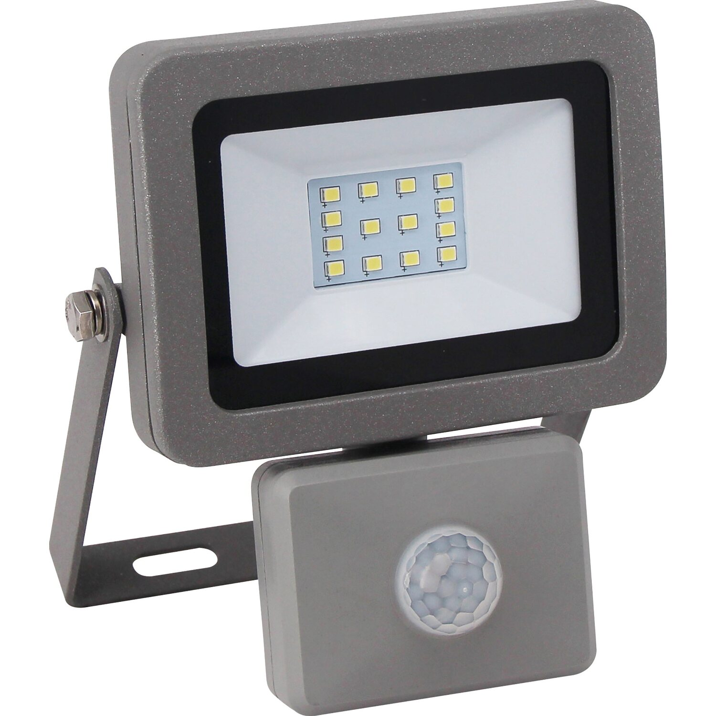 LED Strahler Flare mit Bewegungsmelder EEK: A+ Silber