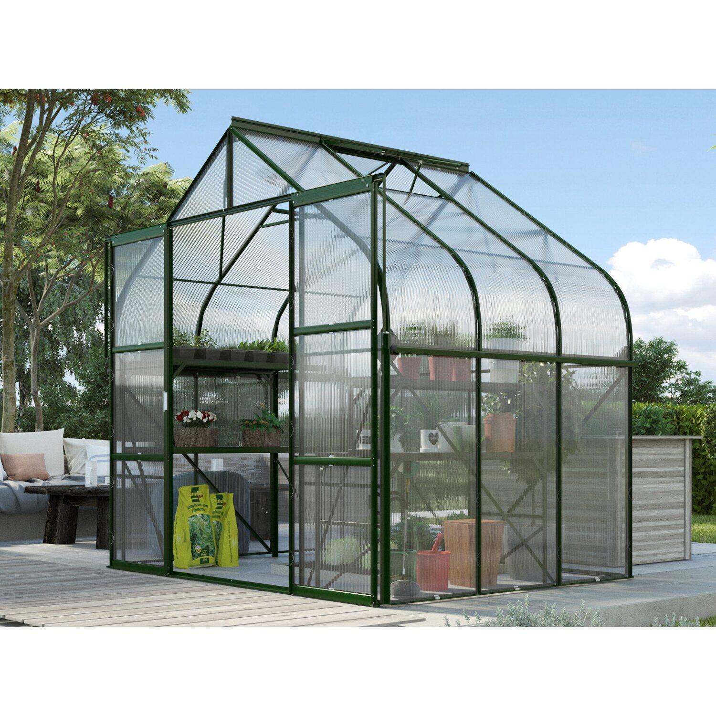 Vitavia Gewachshaus Diana 5000 Hkp 4 Mm Smaragd Kaufen Bei Obi