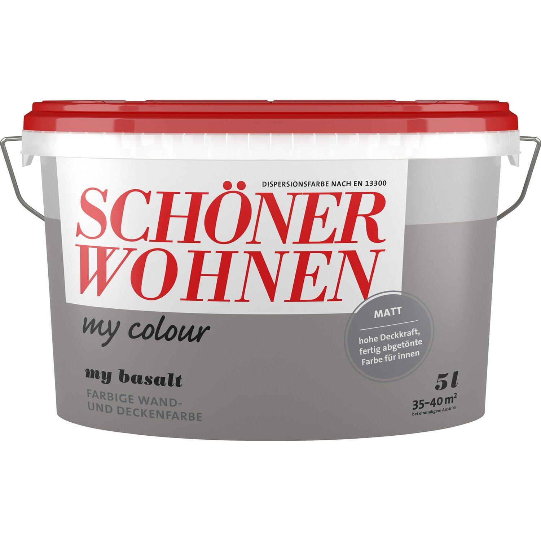 Schöner Wohnen My Colour My Basalt Matt 10 L Kaufen Bei Obi: Schöner Wohnen My Colour My Basalt Matt 5 L Kaufen Bei OBI