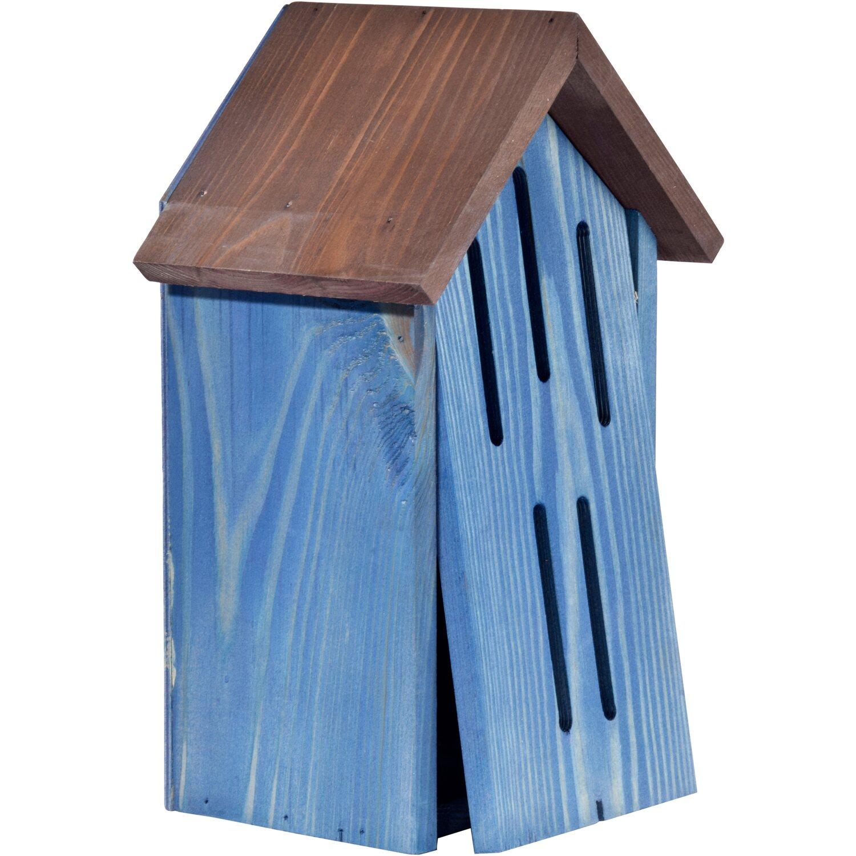 dobar schmetterlingshaus mit t r blau kaufen bei obi. Black Bedroom Furniture Sets. Home Design Ideas