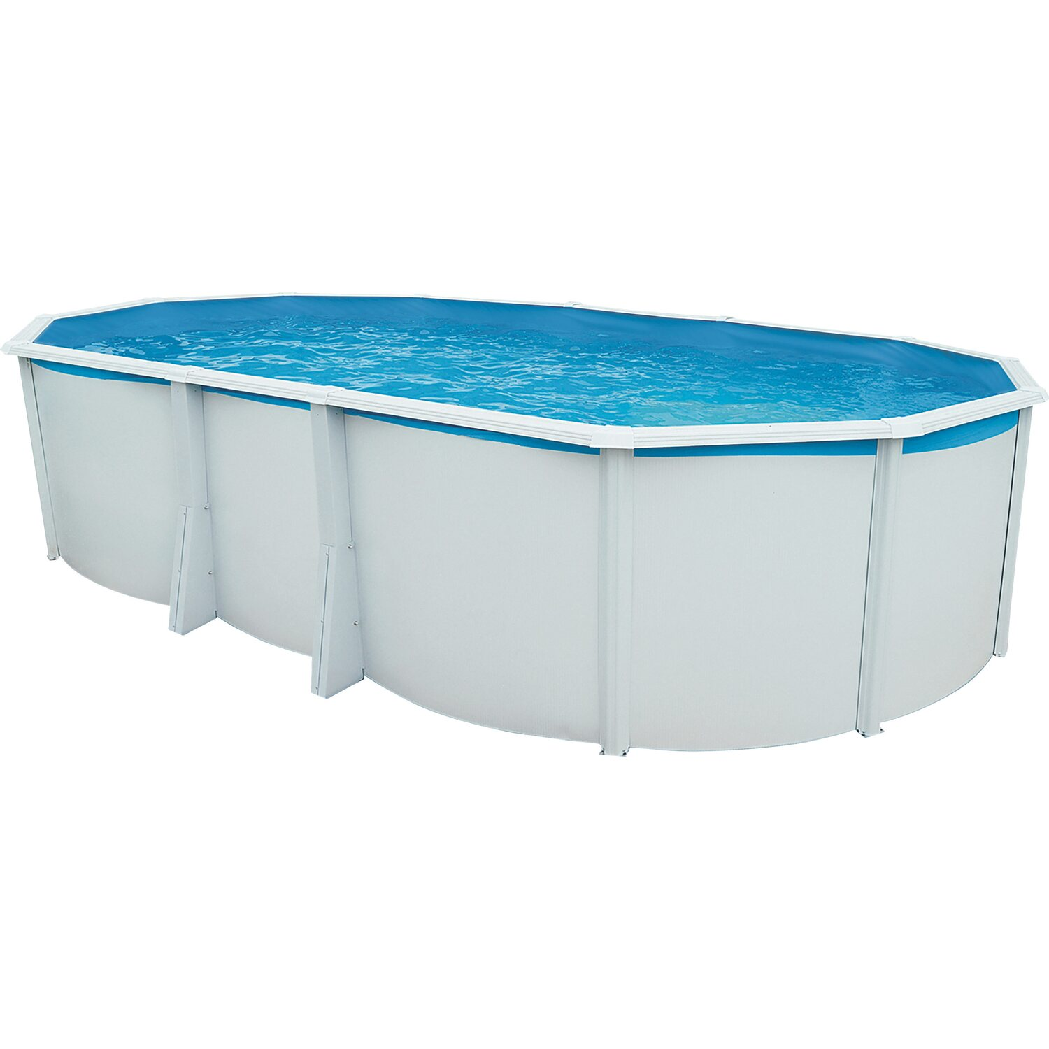 Steinbach stahlwand pool set highline 640 cm x 366 cm x for Ovaler pool zum aufstellen