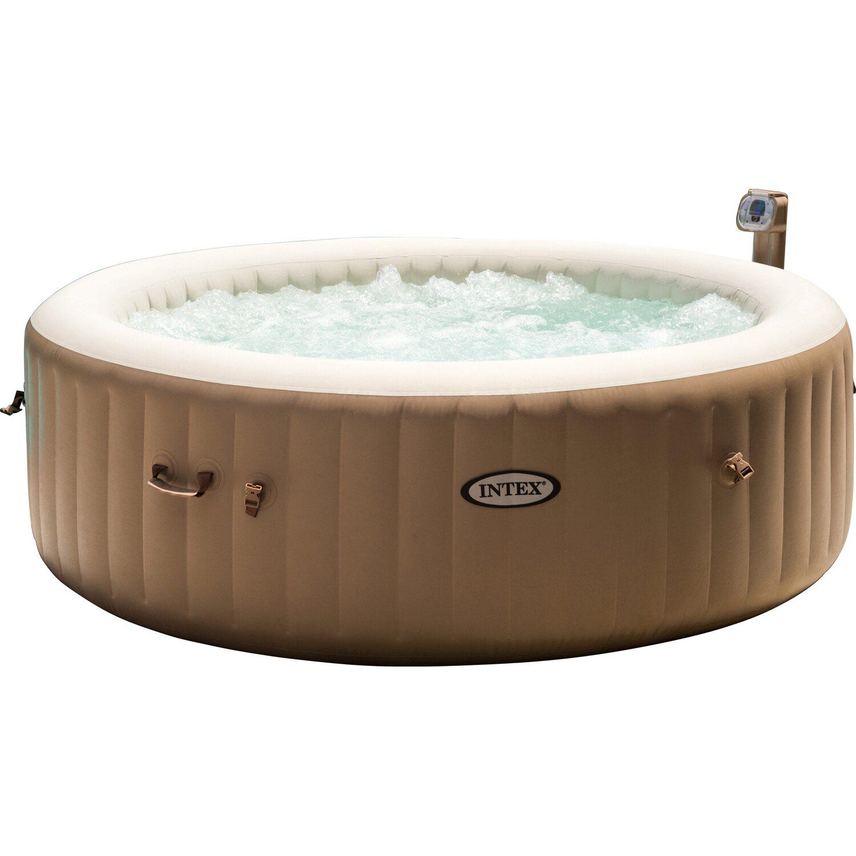 intex whirlpool pure spa jet 85 bubble f r 6 personen 216 cm x 71 cm kaufen bei obi. Black Bedroom Furniture Sets. Home Design Ideas