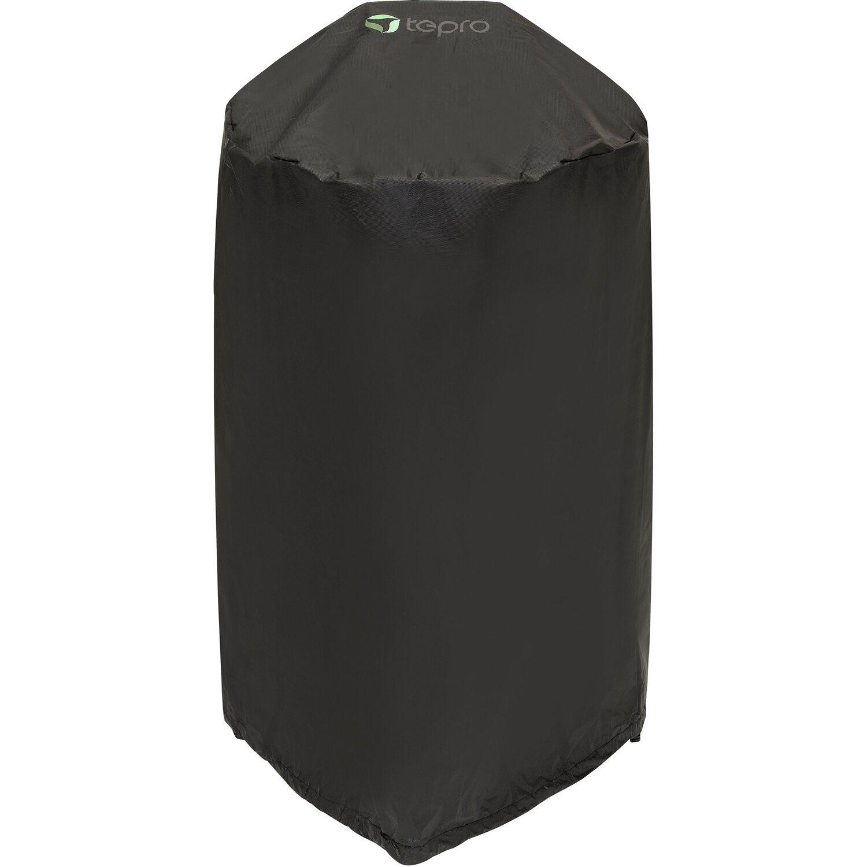 tepro universal abdeckhaube für kugelgrill klein Ø ca. 57 cm x 85 cm