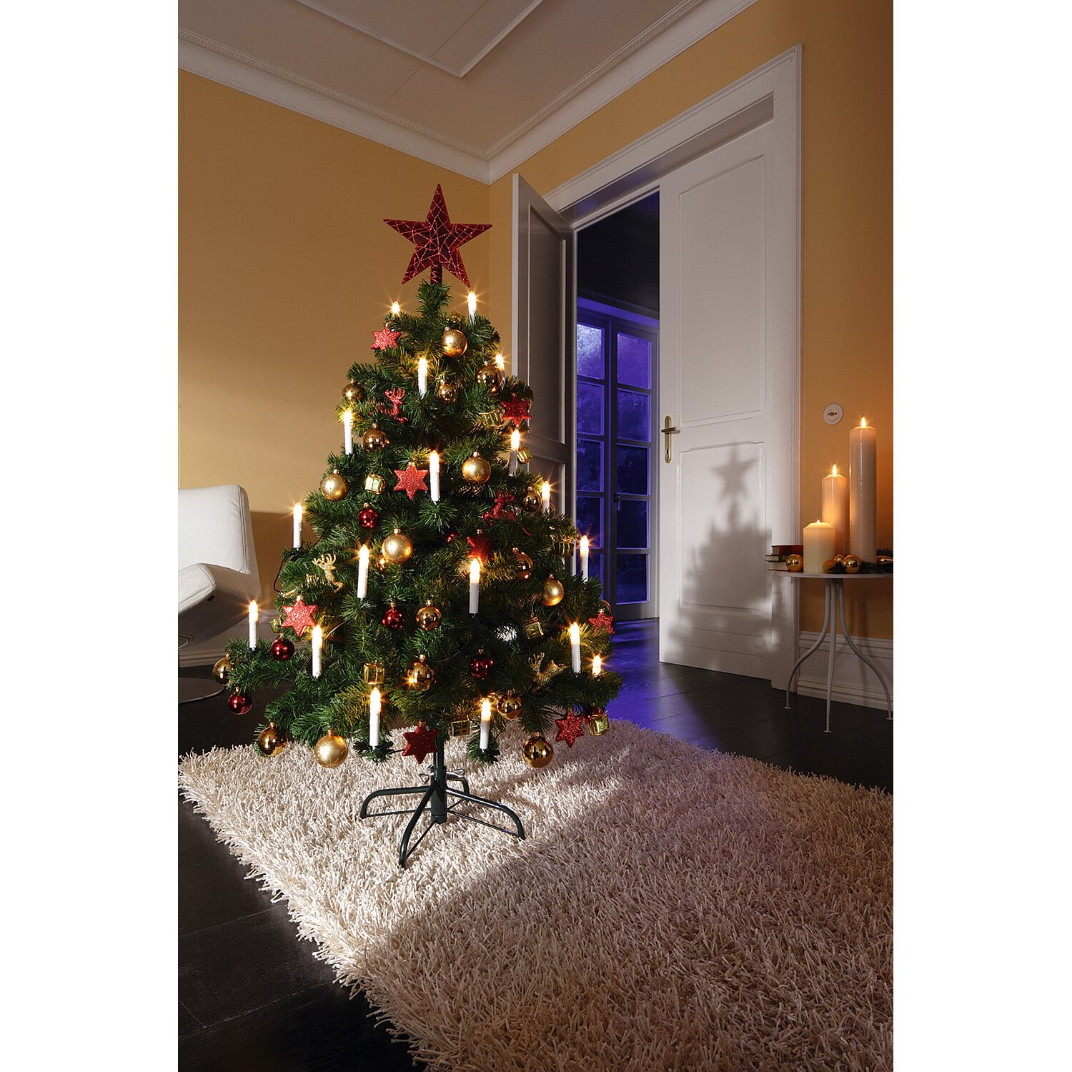 k nstlicher weihnachtsbaum 120 cm kaufen bei obi. Black Bedroom Furniture Sets. Home Design Ideas