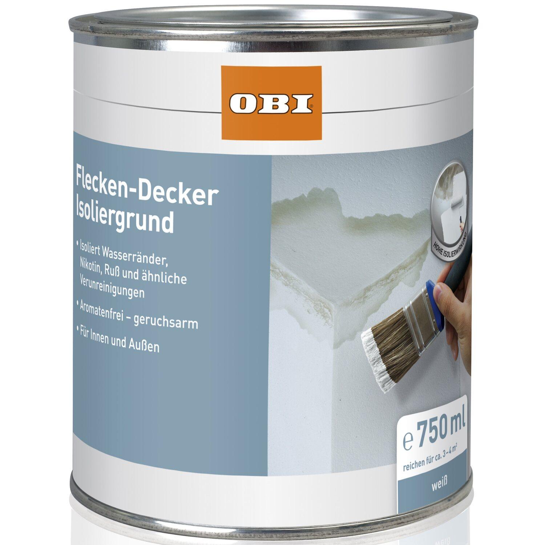 OBI  Flecken-Decker Isoliergrund Weiß matt 750 ml