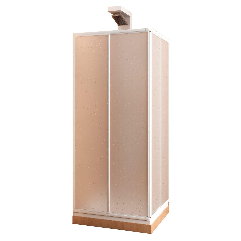 eckeinstieg variabel kunststoffglas wei kaufen bei obi. Black Bedroom Furniture Sets. Home Design Ideas