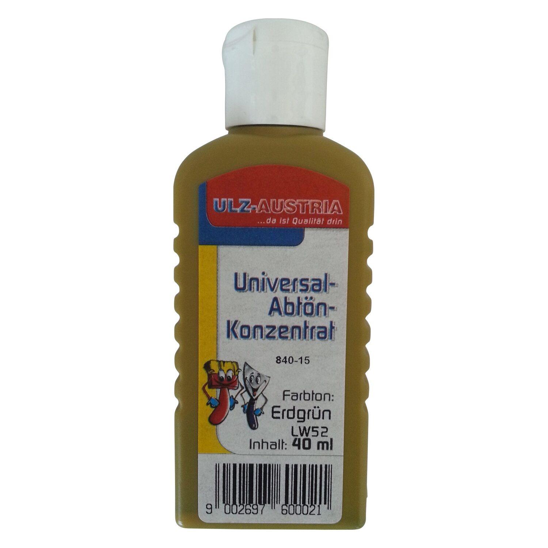 Ulz Schöne Wände Abtönkonzentrat Universal Erdgrün matt 40 ml