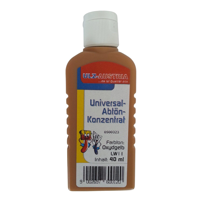 Ulz Schöne Wände Abtönkonzentrat Universal Oxydgelb matt 40 ml