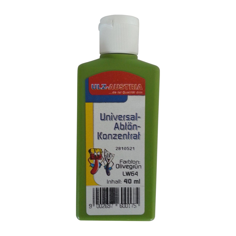 Ulz Schöne Wände Abtönkonzentrat Universal Olivgrün matt 40 ml