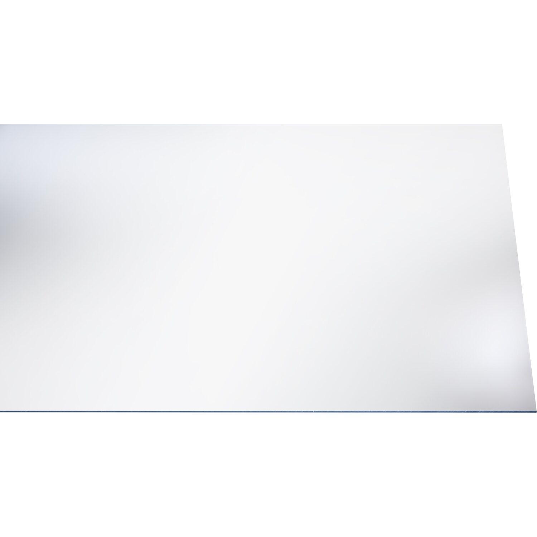 polystyrol platte 2 5 mm glatt transparent 1000 mm x 500. Black Bedroom Furniture Sets. Home Design Ideas