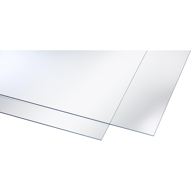 polystyrol platte 2 5 mm glatt transparent 1000 mm x 500 mm kaufen bei obi. Black Bedroom Furniture Sets. Home Design Ideas