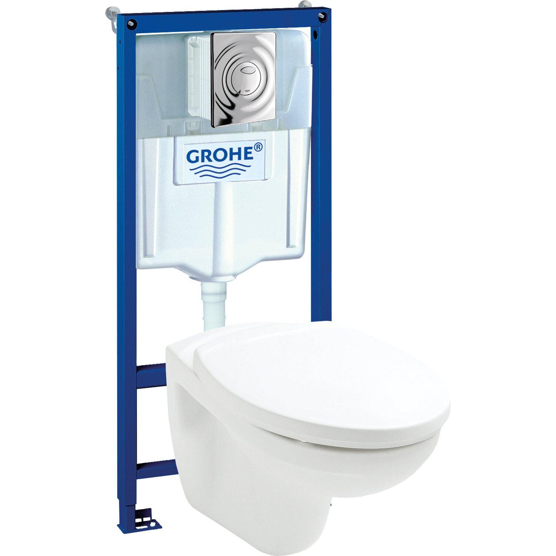 saniplus wc- unterputz-set mit wc-schale weiß für vormauerung kaufen