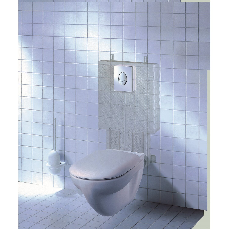 saniplus wc unterputz set mit wc schale wei f r. Black Bedroom Furniture Sets. Home Design Ideas