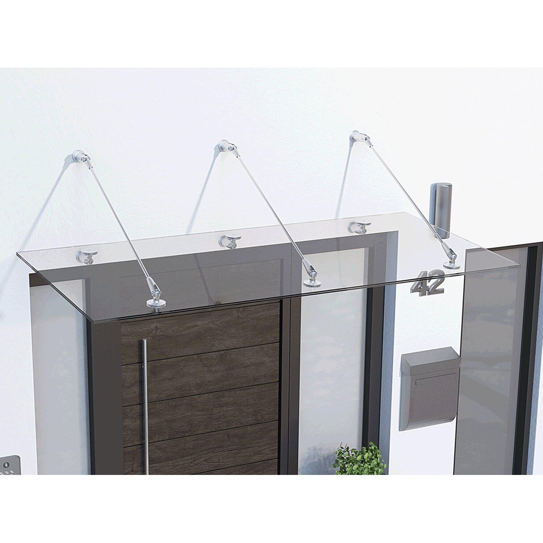 Gutta Haustürvordach Vordach Rundbogenvordach BV//B 160 cm auch mit Seitenblende