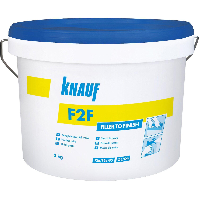 F2F - Fertigfeinspachtel Weiß 5 kg