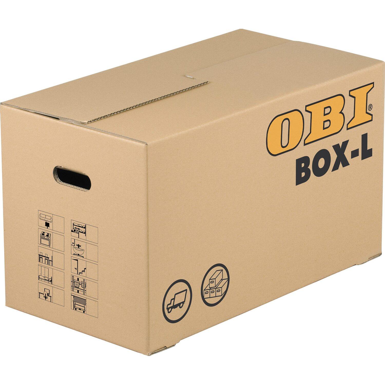 OBI Umzugskarton BOX L