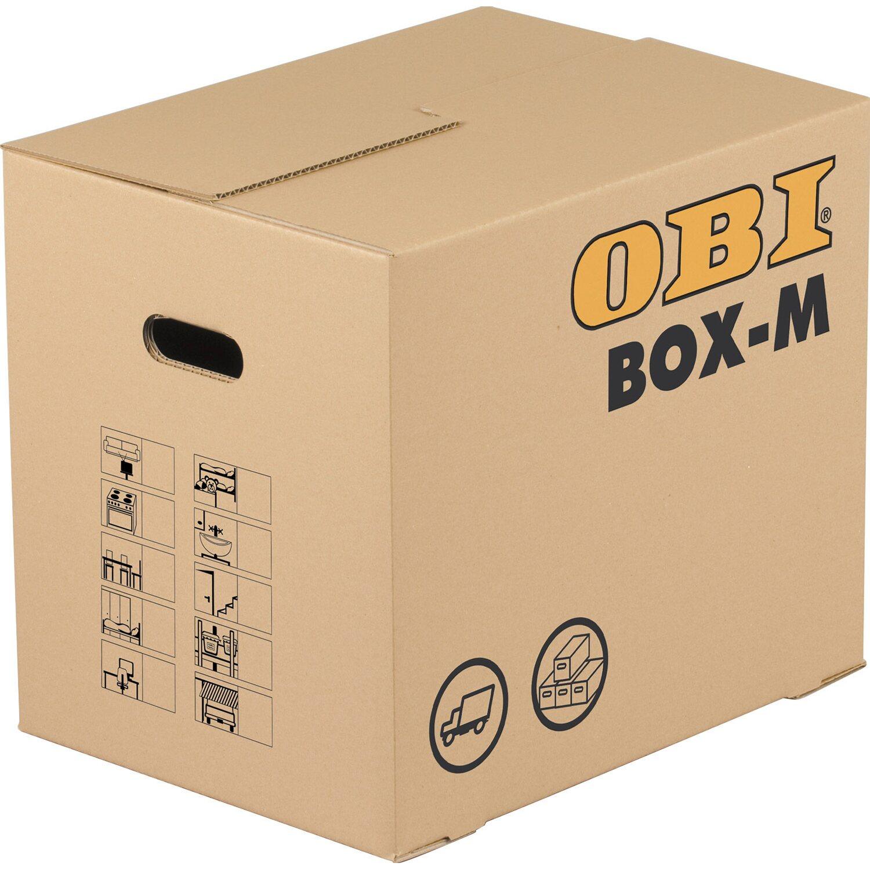 obi umzugskarton box m kaufen bei obi. Black Bedroom Furniture Sets. Home Design Ideas
