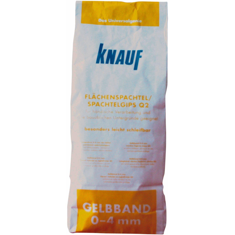 Knauf Gelbband 0 - 4 mm Flächenspachtel / Spachtelgips 5 kg