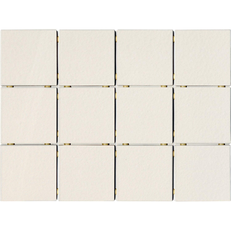 Mosaik Weiß Matt Cm X Cm Kaufen Bei OBI - Weiße fliesen 10x10
