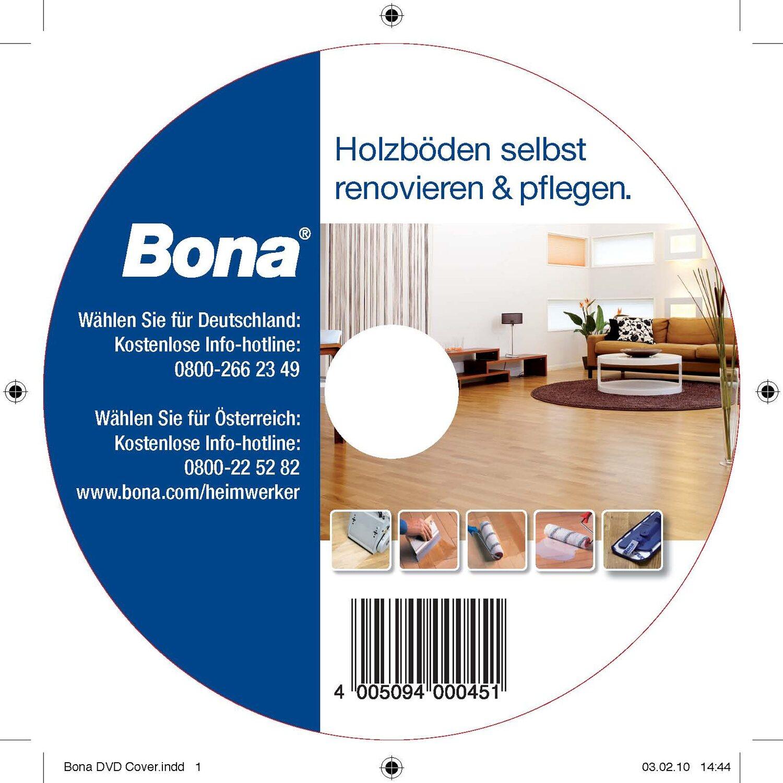 Bona  Parkettrenovierung DVD