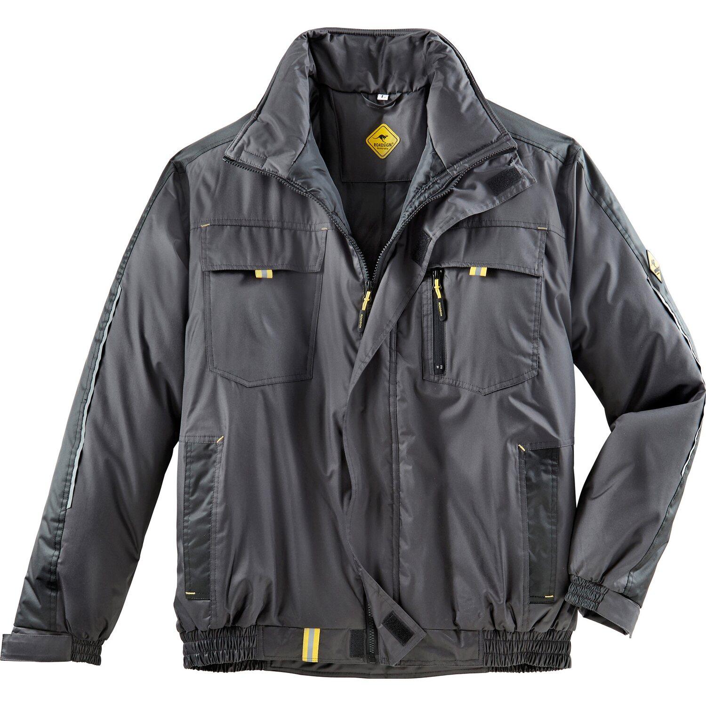 online retailer 08a96 74280 Roadsign Herren Pilotenjacke Anthrazit-Gelb Größe M