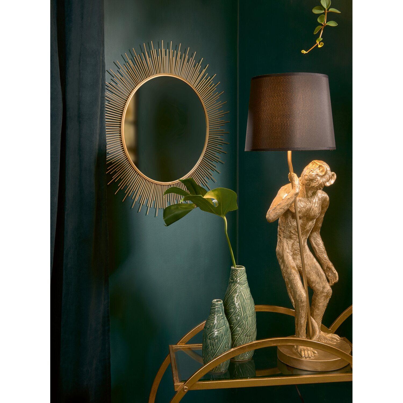Wandspiegel Sonne Glam Forest Ø 65 cm Gold